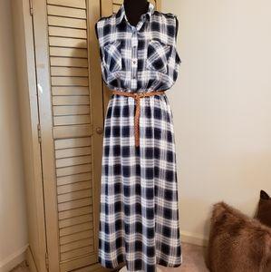 GINGER G ~ PLAID DRESS